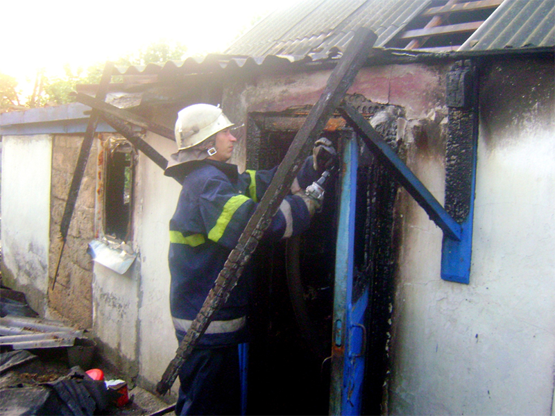 На Херсонщине пожар унес три жизни