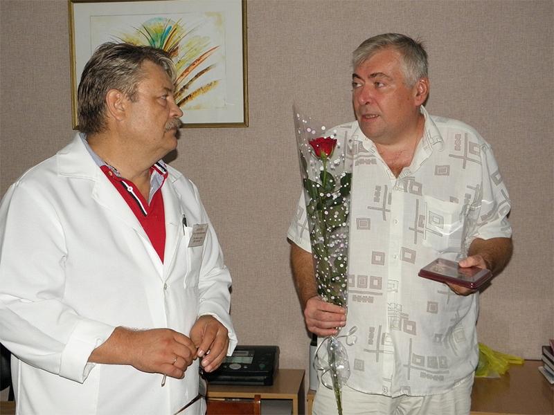 Головний лікар обласної лікарні «Хоспіс» отримав відзнаку