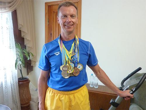 Херсонский врач стал участником чемпионата мира по плаванию