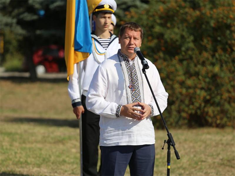 Андрій Гордєєв: Несімо гордо наш стяг!