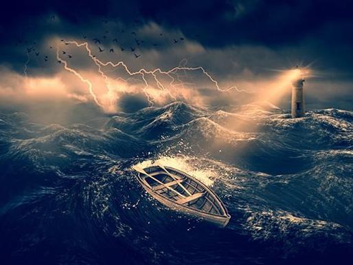 На Херсонщине молния ударила в рыболова