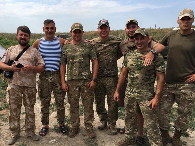 Губернатор Херсонщини навідав захисників на сході України
