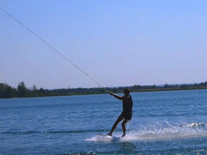 В Гидропарке Херсона водный лыжник влетел в купальщика