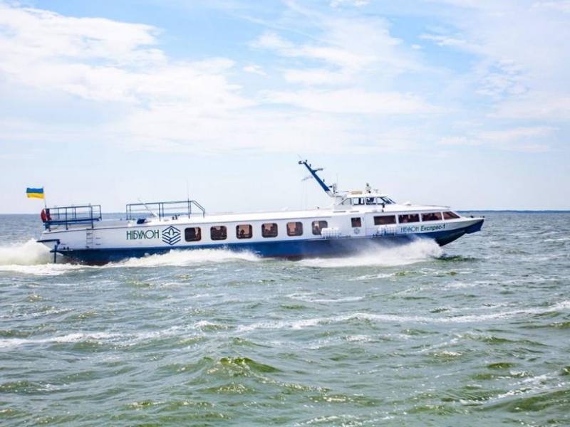 """Пасажирське судно """"Херсон-Гола Пристань"""" збільшить кількість перевезень"""