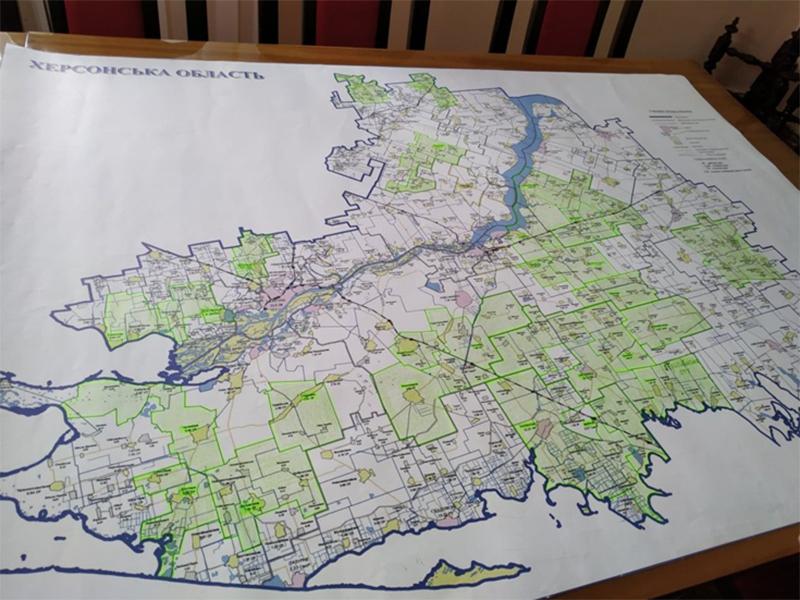 Місцева влада хоче п'ять районів на Херсонщині