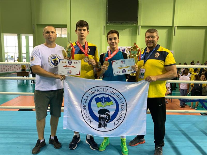 Херсонские юные боксеры отличились на Чемпионате Европы