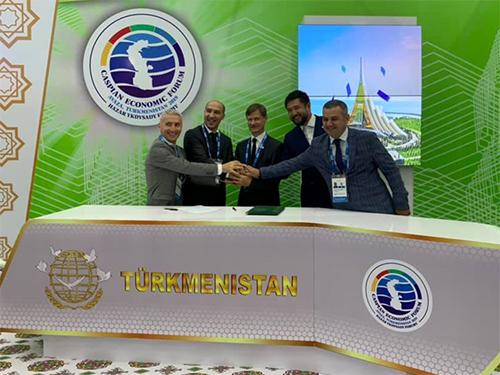 Развитие международного проекта с центром в Херсоне поддержали в Туркменистане
