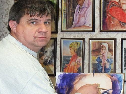 Віктор Артамонов: Я навіть не знав, що є спеціальний акварельний папір