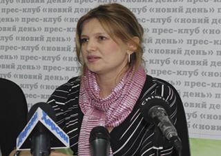 Херсонской журналистке «за Державу обидно…»