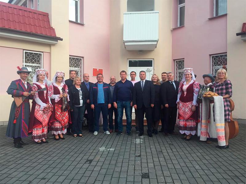Херсонська делегація прибула в Білорусь