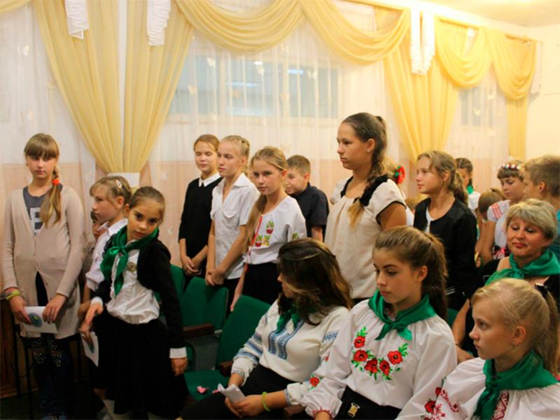 У Херсоні відбулося посвячення в юннати