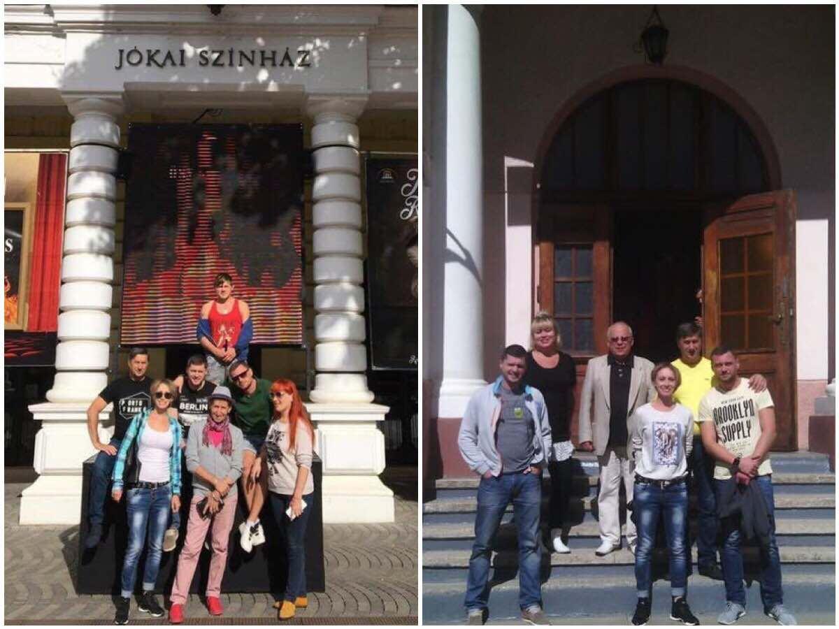 Херсонський театр зібрав аншлаг в Угорщині