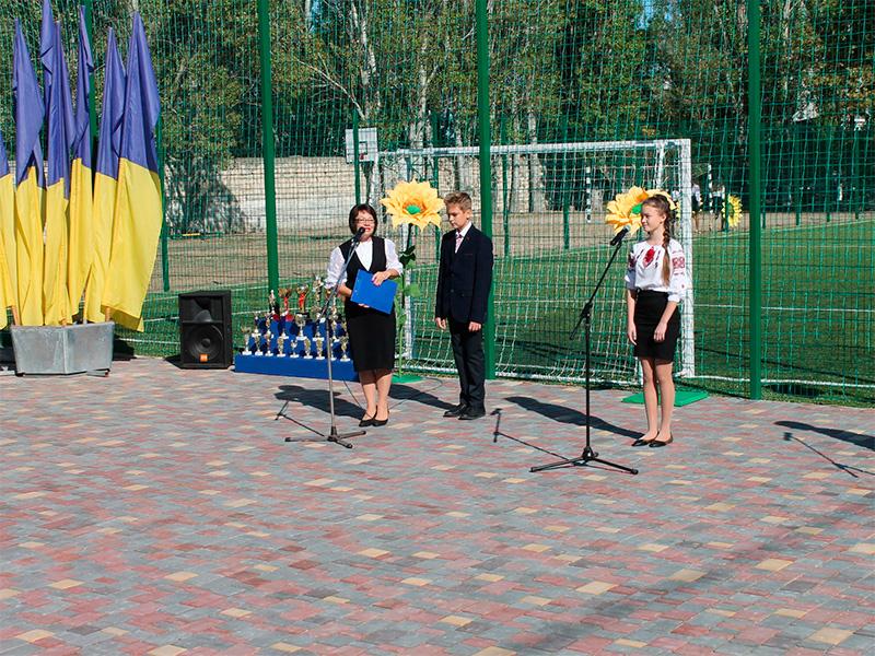 Спортивний подарунок школярам Скадовська
