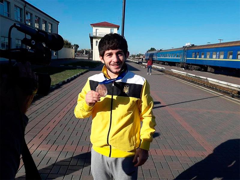 Випускник Херсонського училища  здобув бронзу на Чемпіонаті світу