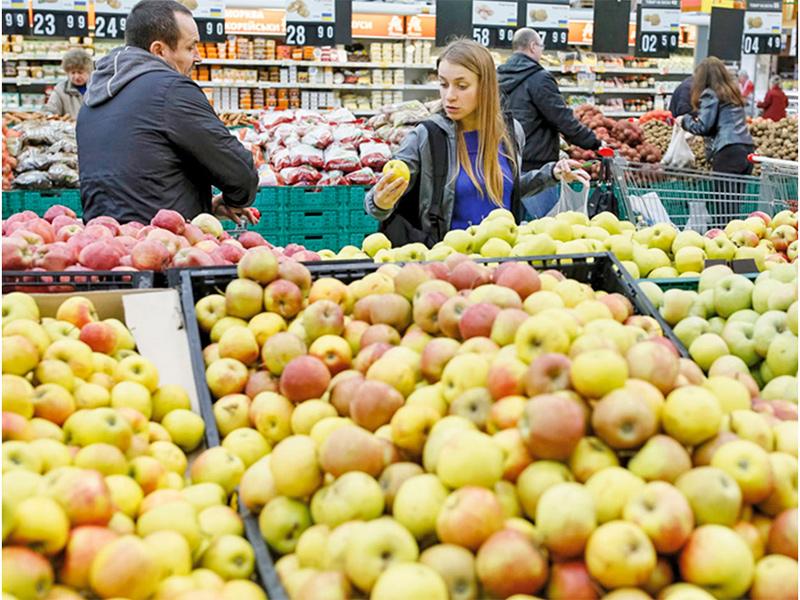На Херсонщине за яблоки платят, как в Польше