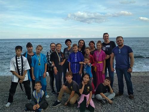 Херсонські школярі завоювали золото, срібло та бронзу на чемпіонаті України з ушу