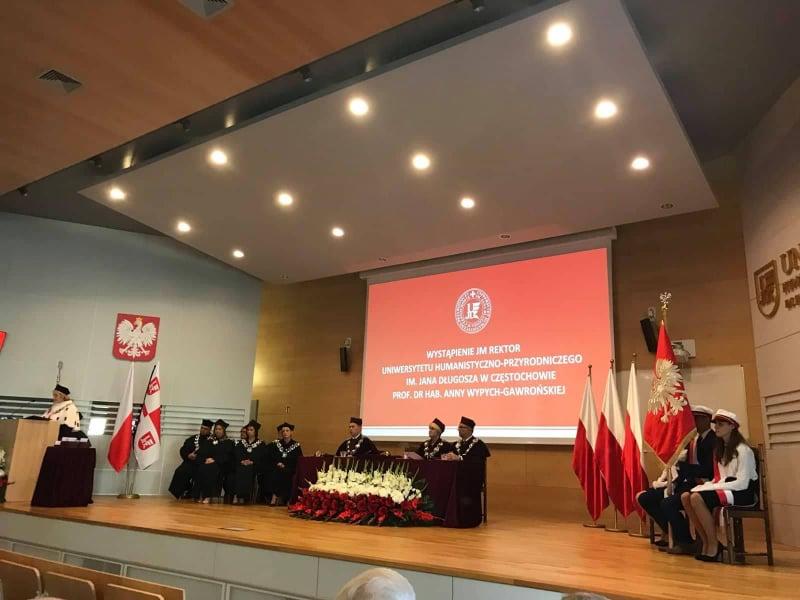 Херсонські освітяни на інавгурації польського університету