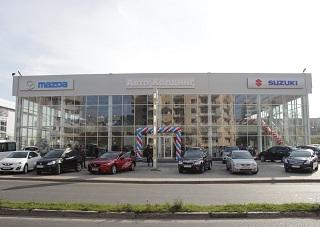 У Mazda и SUZUKI  пополнение: новый дилерский центр в Херсоне