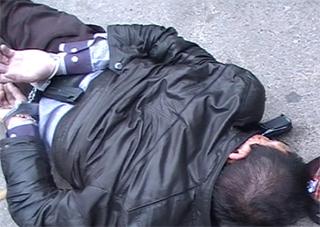 Міліція в Херсоні затримала  наркокур'єра