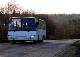 Водитель автобуса помог милиции найти девочку, которая сбежала из дома