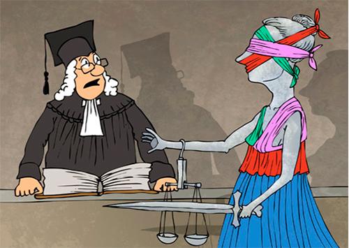 Кого херсонские судьи считают «процессуальным террористом»