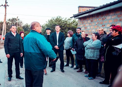 Юрій Рожков: Наша команда  готова взяти на себе відповідальність за приміські селища