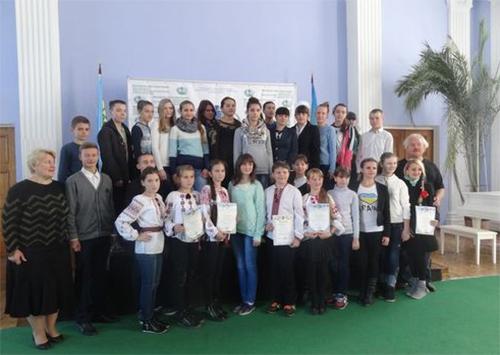 Херсонщина приняла участие во Всеукраинском детском фестивале «Украина - сад»
