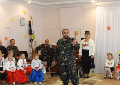 У Скадовську відбулась посвята у козачата