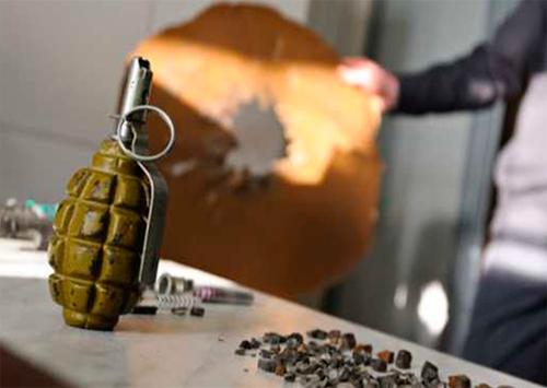 Херсонские торговцы подсчитали убытки после взрыва гранаты