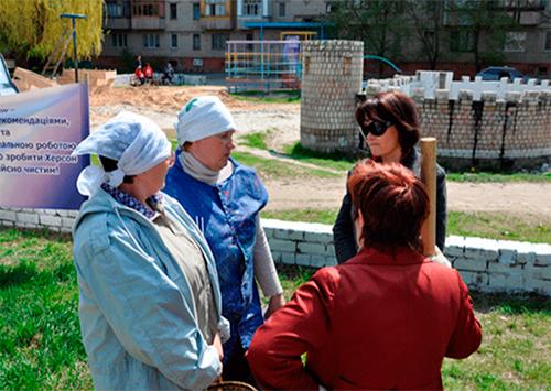 Алёна Ротова обратилась к херсонцам