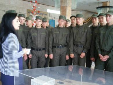 У Херсоні провели екскурсію для військовослужбовців