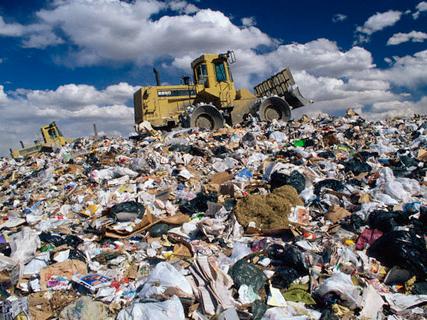 Херсонщина: чужого мусора не надо