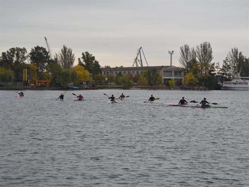 В Херсоне состоялся Международный чемпионат среди ветеранов по гребле на байдарках и каноэ