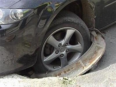 В западню на дороге угодил херсонский автолюбитель
