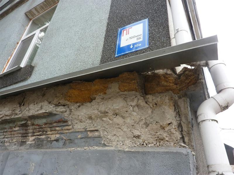 Обваливается здание херсонской «мореходки»