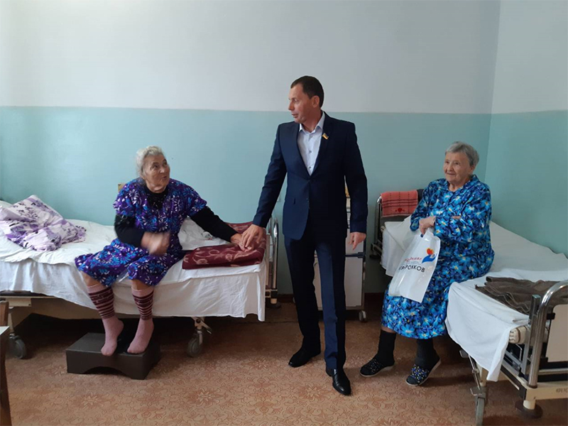 Юрій Рожков: Я вдячний нашим ветеранам за мужність, відданість і патріотизм