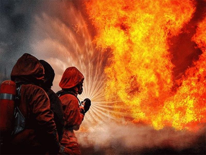 В Олешковском районе ликвидировали два пожара
