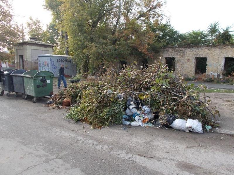 На Херсонщине только 37% населенных пунктов централизованно вывозят ТБО