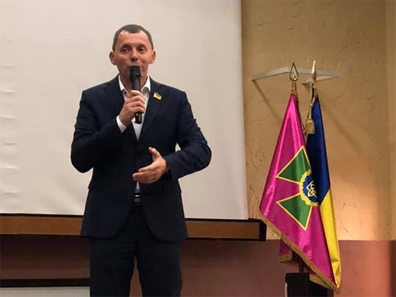 Юрій Рожков привітав херсонських прикордонників