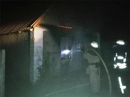 За минулу добу на Херсонщині сталося дві пожежі
