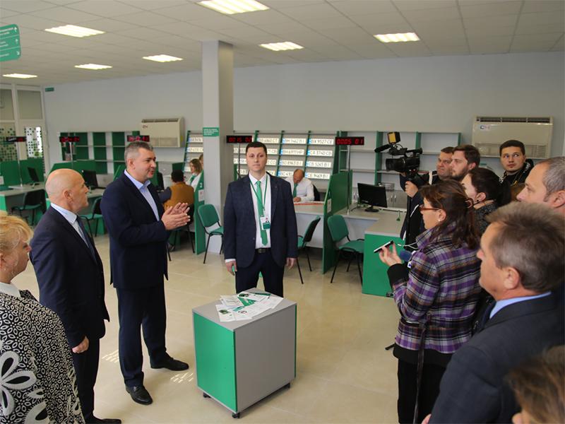 На Херсонщині відкрито ще один сервісний центр МВС нового зразка