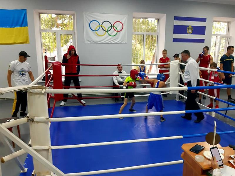 В Херсоне открыт новый боксёрский зал