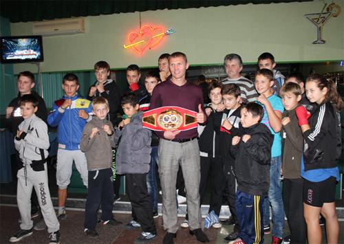 Украинский «Гладиатор» посетил родной Скадовск