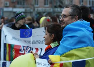 Лидер ХОО КВУ о херсонском «евро-майдане»