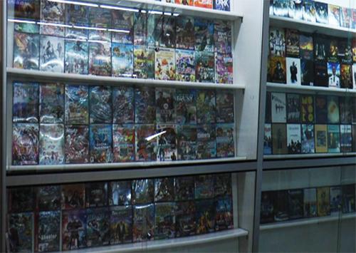 В центре Херсона продавались контрафактные диски
