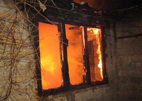 На Херсонщине горела Государственная регистрационная служба