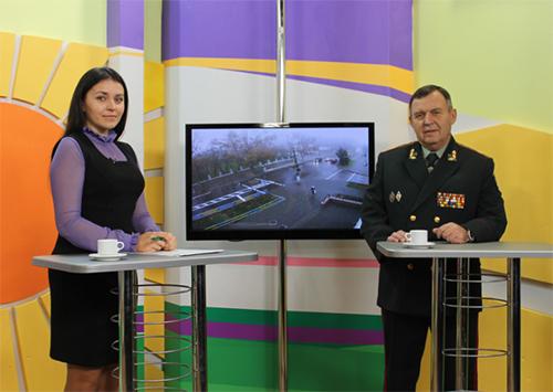 Про що говорив Володимир Пінькас на херсонському телебаченні?