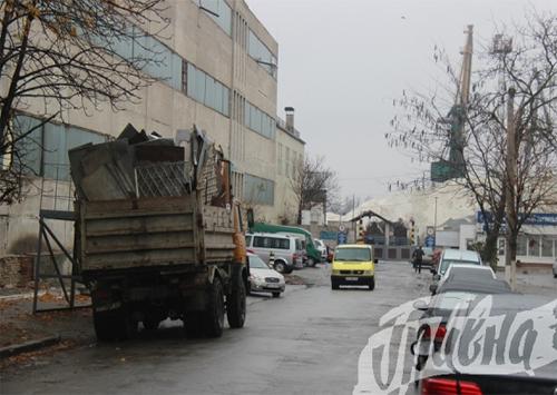 Нет жизни от грузовиков в Херсоне