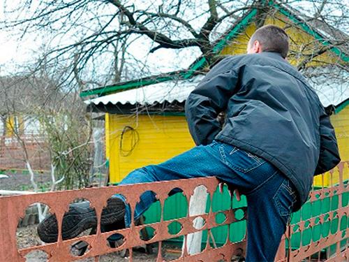 Херсонские дачники осатанели от засилья мелких краж