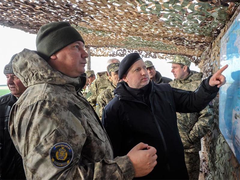 Андрій Гордєєв взяв участь у стрільбах зенітних ракетних підрозділів